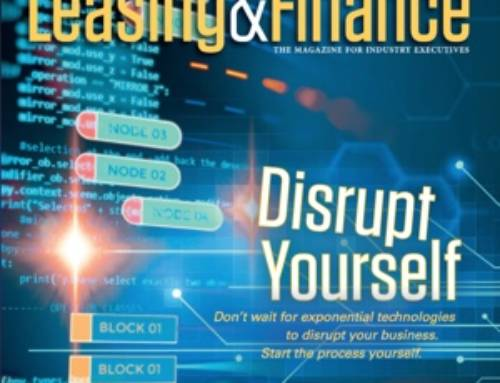 Quoted in EL&F Magazine: Disrupt Yourself