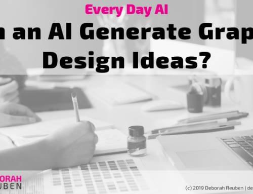 Everyday AI Experiment: How Might AI Help me Brainstorm a New Logo?