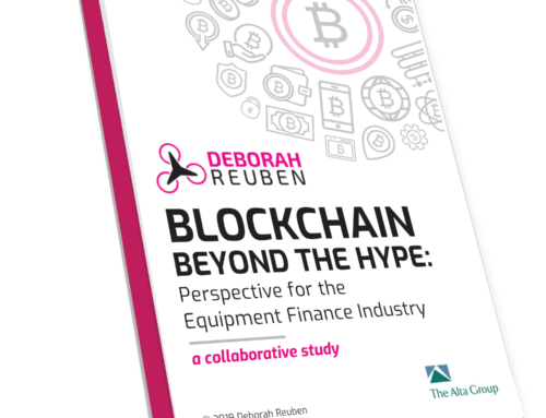 Blockchain Beyond the Hype: Perspective for the Equipment Finance Industry