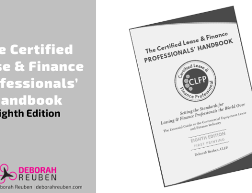 Eighth Edition of The Certified Lease & Finance Professionals' Handbook