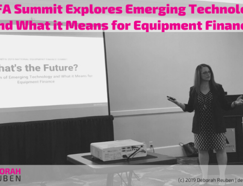 What's the Future? NEFA Summit Explores Emerging Technology and What it Means for Equipment Finance