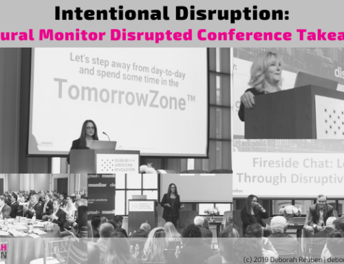 Intentional Disruption: Inaugural Monitor Disrupted Conference Takeaways