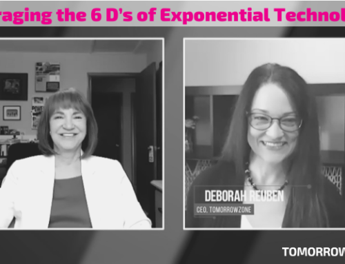 Leveraging the 6 D's of Exponential Technologies